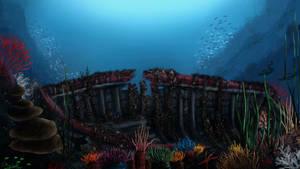 Down to the Reef by SebastianBockisch