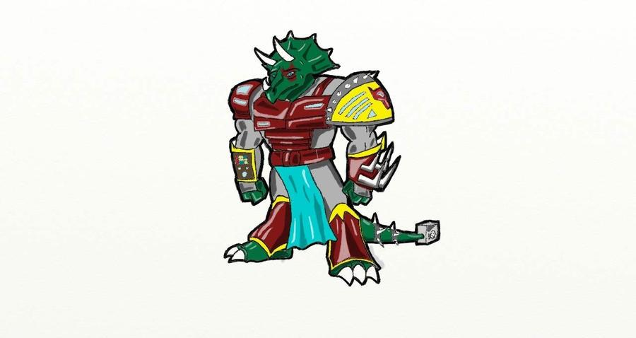 Serin, guerrero Tricerator Serin__the_last_of_the_three_horns_by_gallahar-d4kmvju