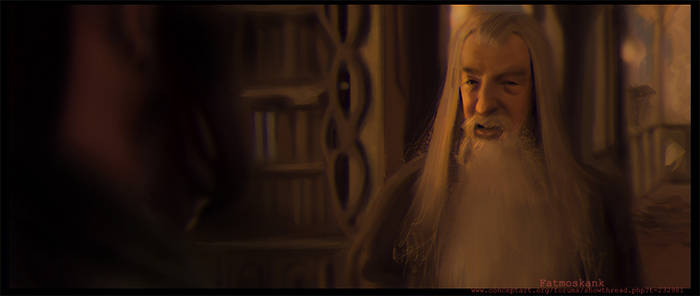 Lord of the ring movie still study