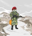Commission: Paratrooper