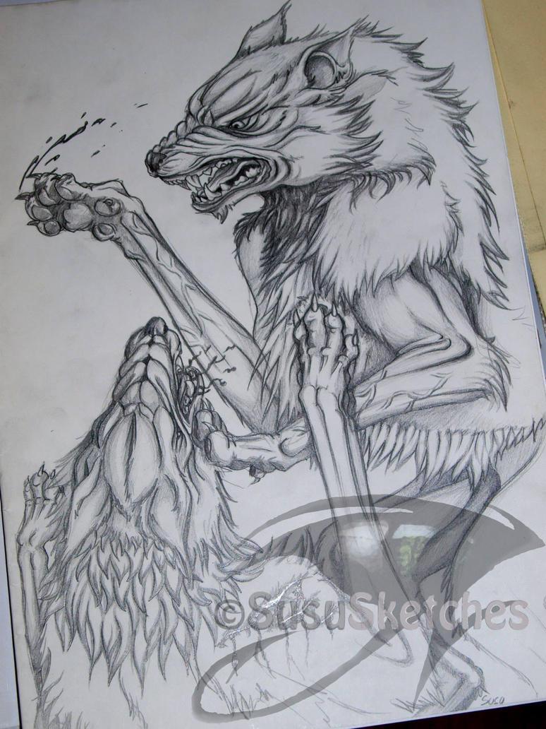 Traditional Sketch - W...