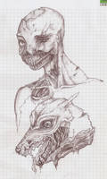 Zombie me and Haku