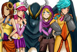 We are Team L - colored