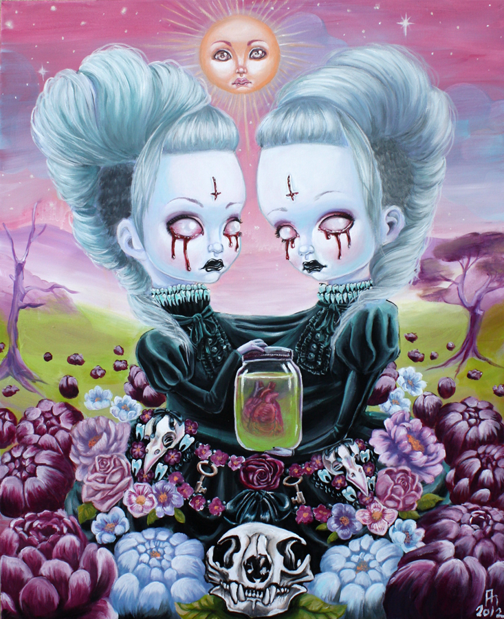 Finished twins! by Mai-Ja