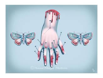 Pastel Bleeding - Joint Pain by Mai-Ja