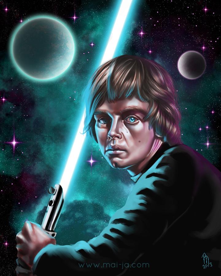 Luke Skywalker By Mai Ja