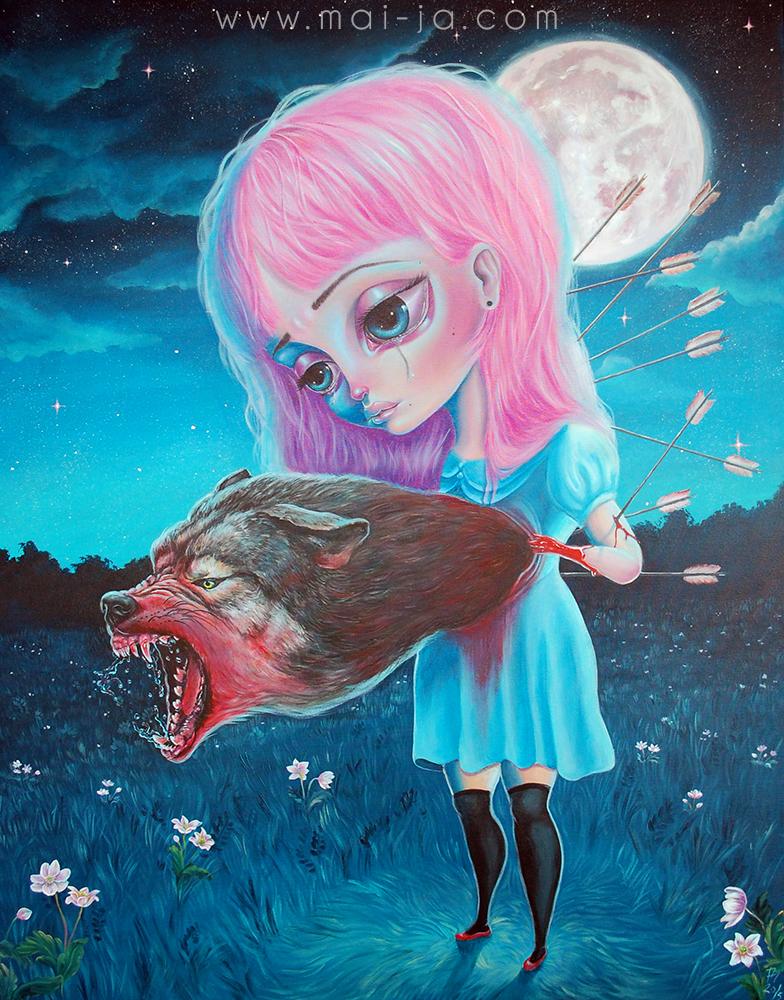 Wolf , 2015 by Mai-Ja