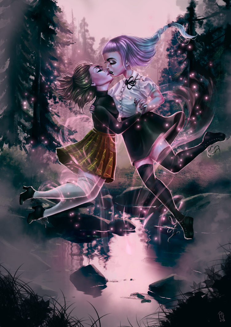 Witch's Kiss by Mai-Ja