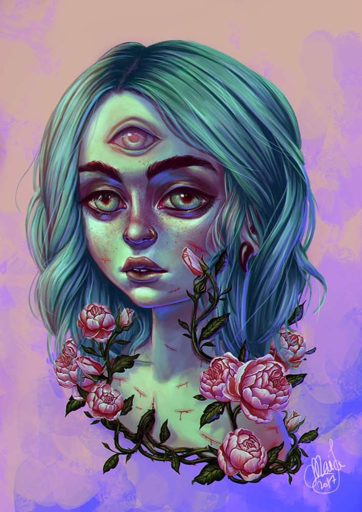 Roses are red... by Mai-Ja