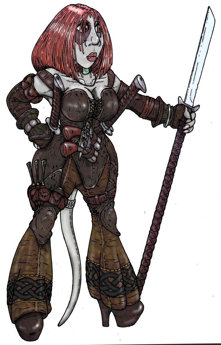 Tasha, the rogue by zymurgea