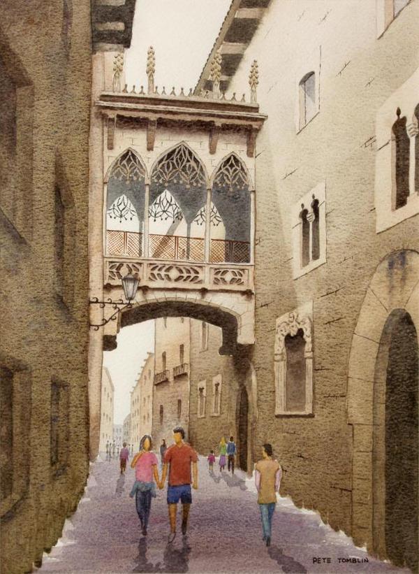 Backstreet In Barcelona by Pete-Tomblin