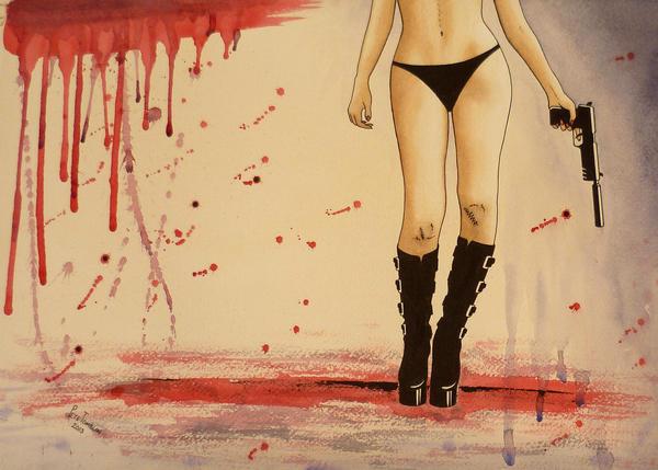 She's A Killer by Pete-Tomblin