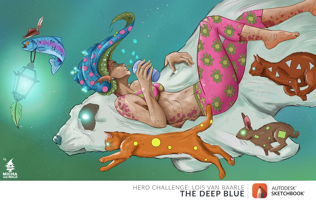 The Deep Blue by Micha-vom-Wald