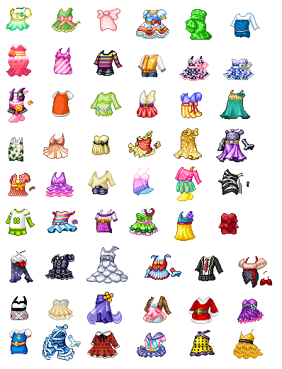 Fantage Clothes Kit Outfits 1 By Livinglikefab On Deviantart