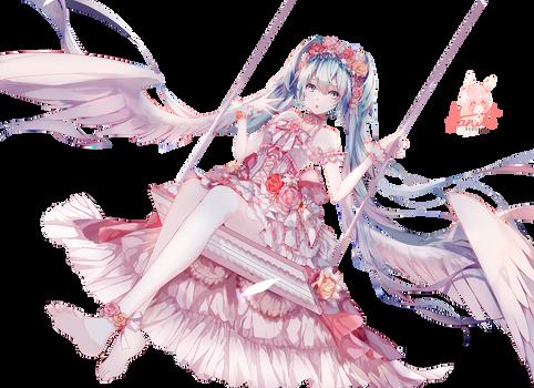 Vocaloid 01 Miku Flowera