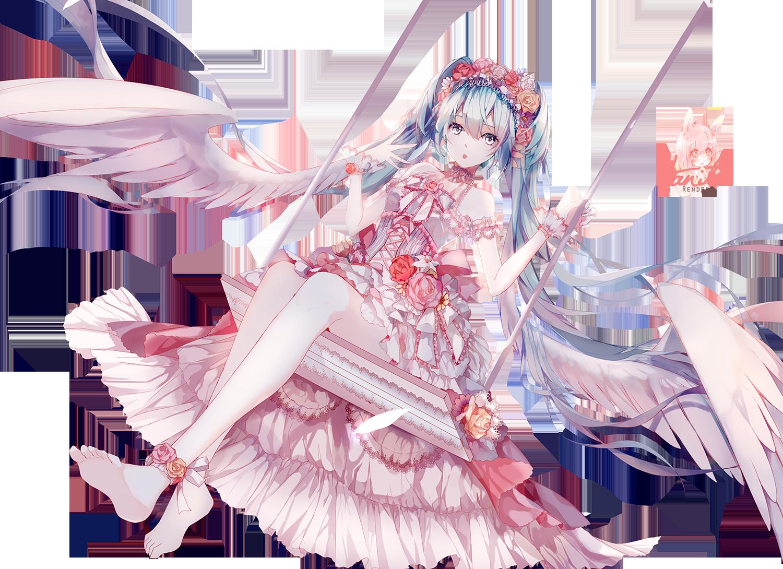 A la recherche de nouveaux renders ? Venez-vite ! Vocaloid_01_miku_flowera_by_kaineleto-d8582ln