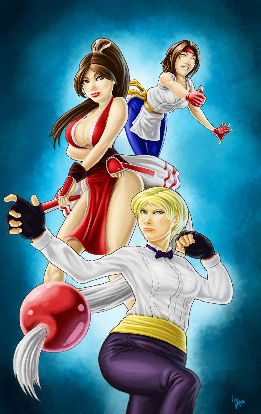 The King of Fighters fanart by NanadoRJ