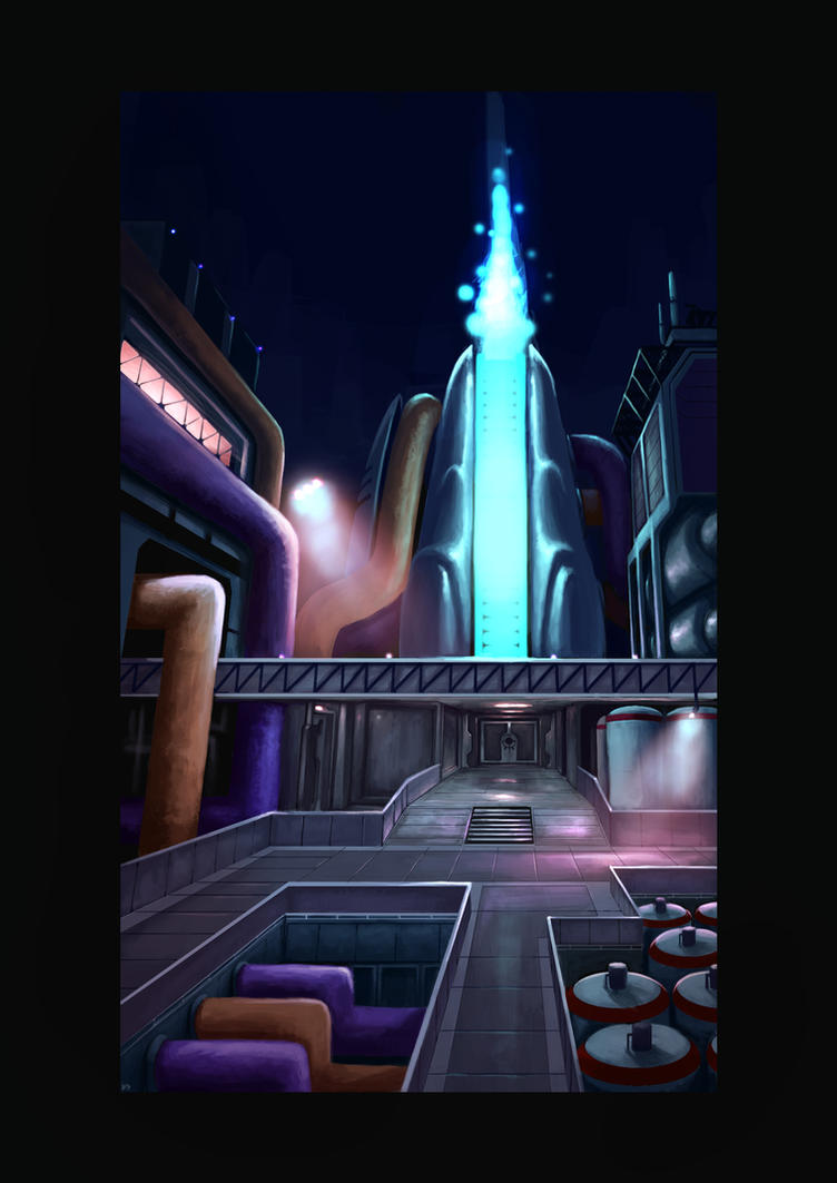 Futurist refinery by NanadoRJ