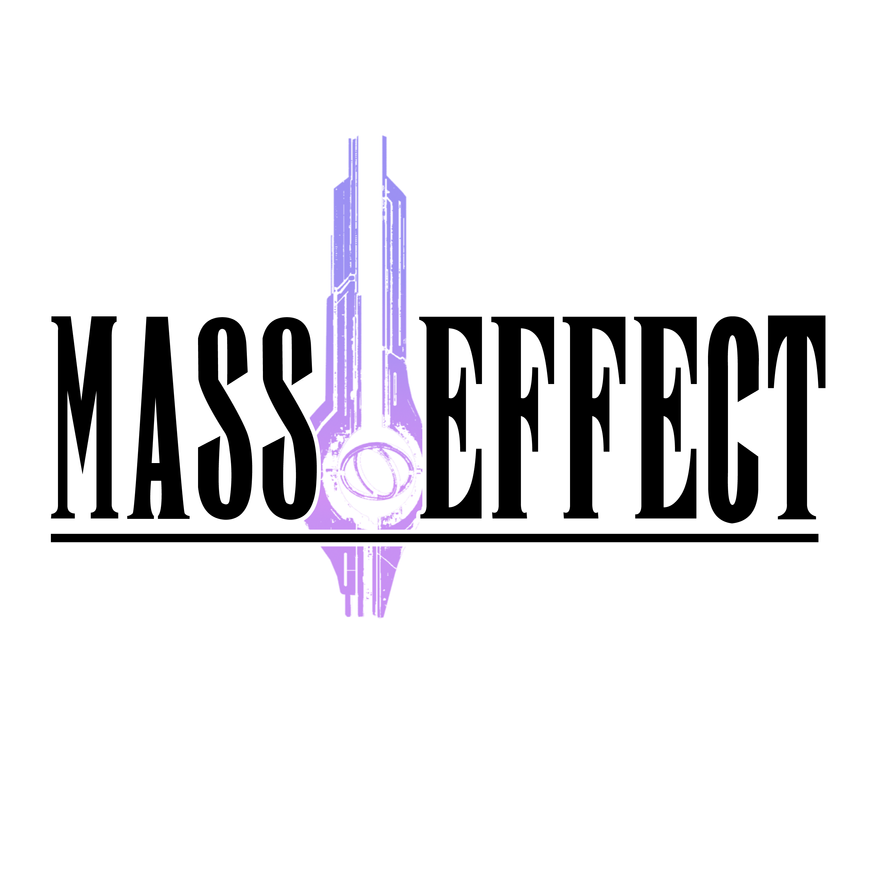 Mass Effect Final Fantasy Style Logo by Theodoricos