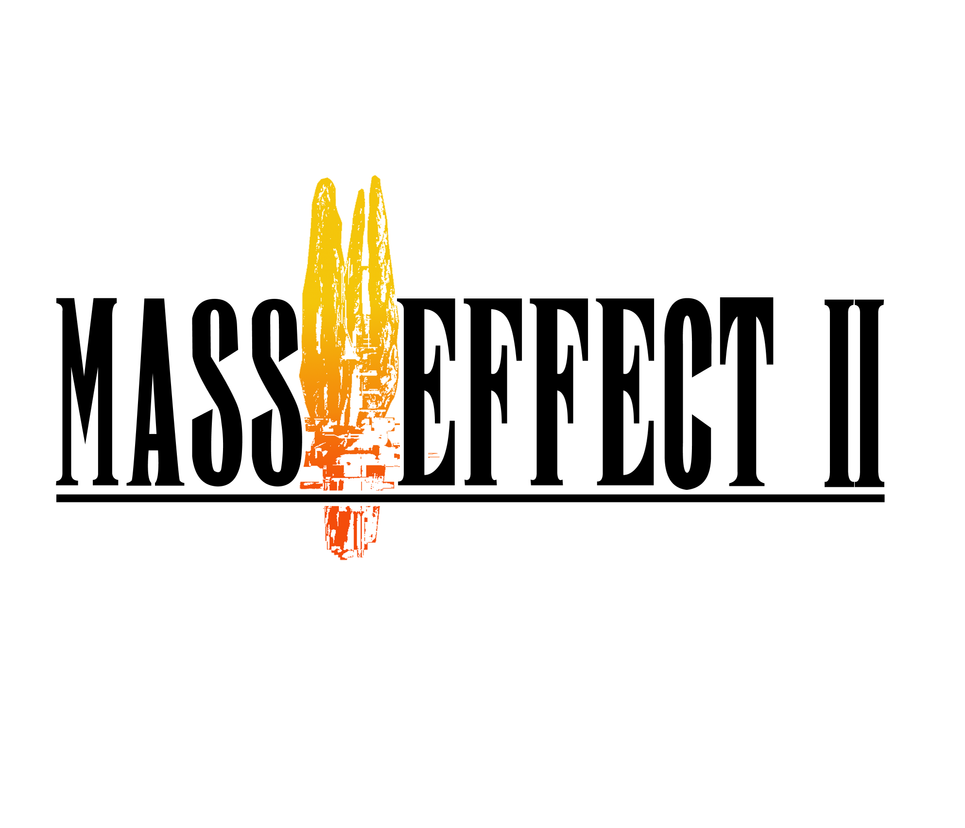 Mass Effect 2 Final Fantasy Style Logo by Theodoricos