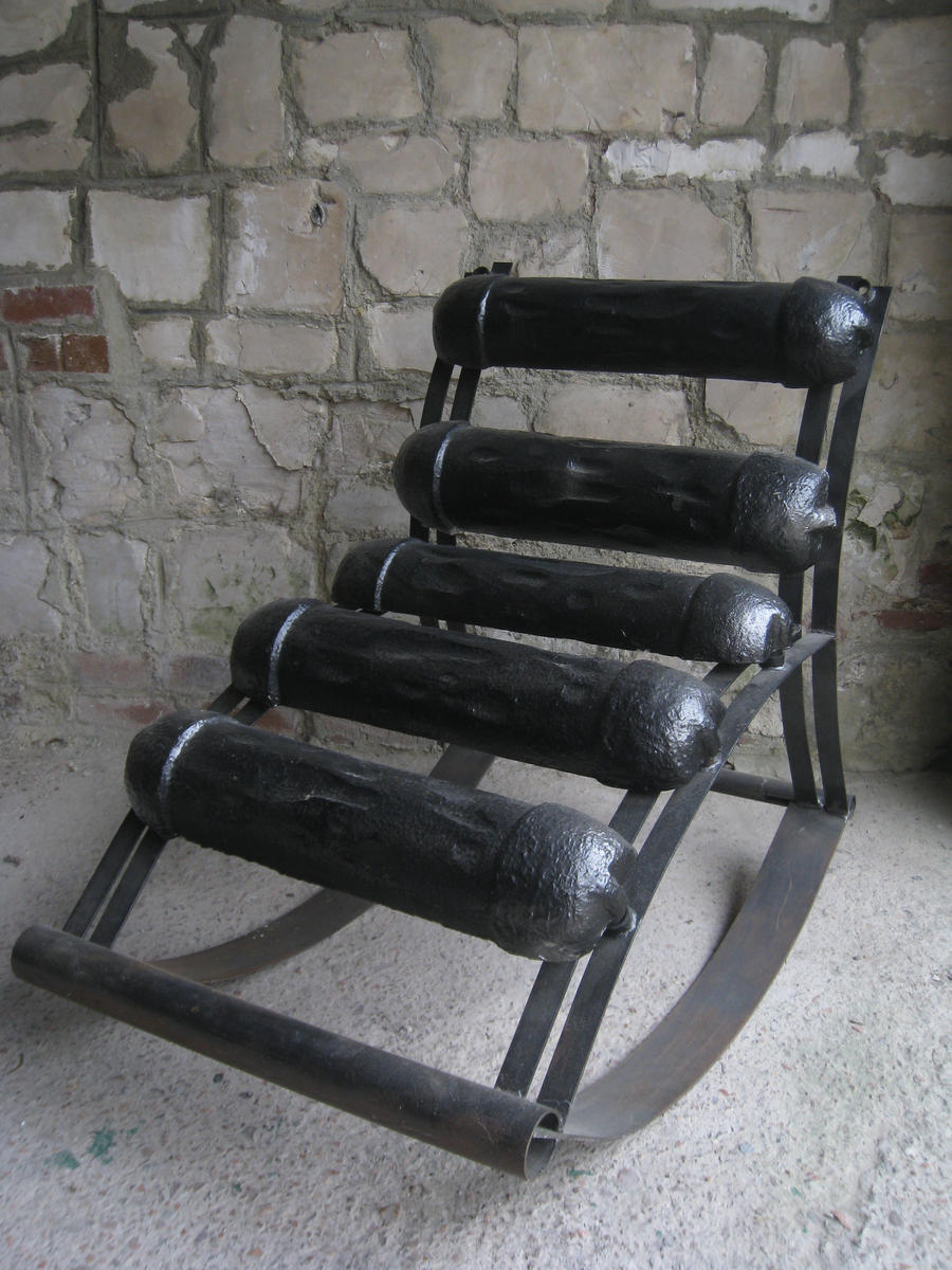 Chaise a bascule by monsieur o on deviantart for Chaise a bascule