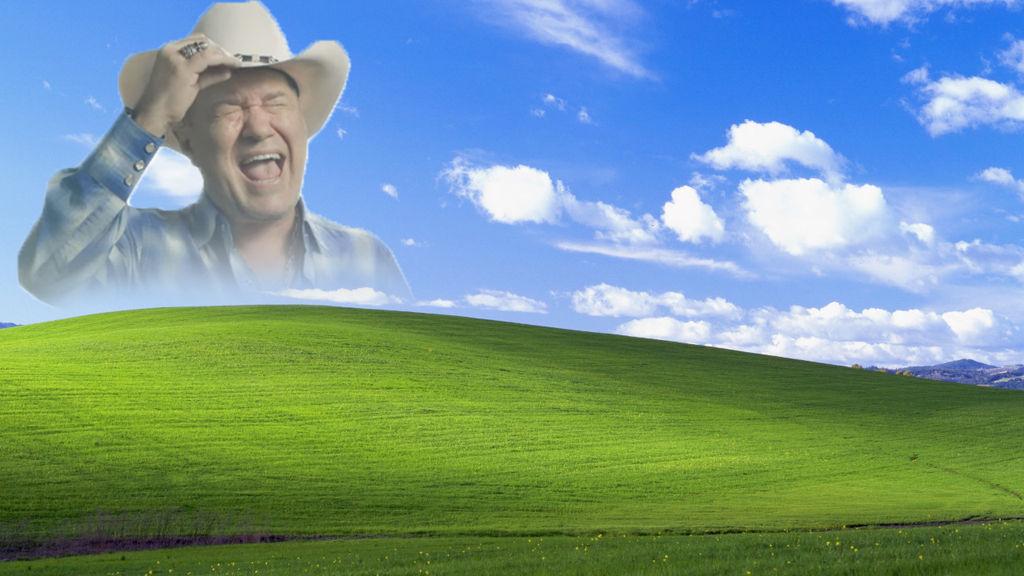 Screaming Cowboy Meme - Windows XP Background by x-SHARIX ...