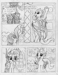 A Change of Scenery - Page 1, Scene 1 by ParanormalPinkie