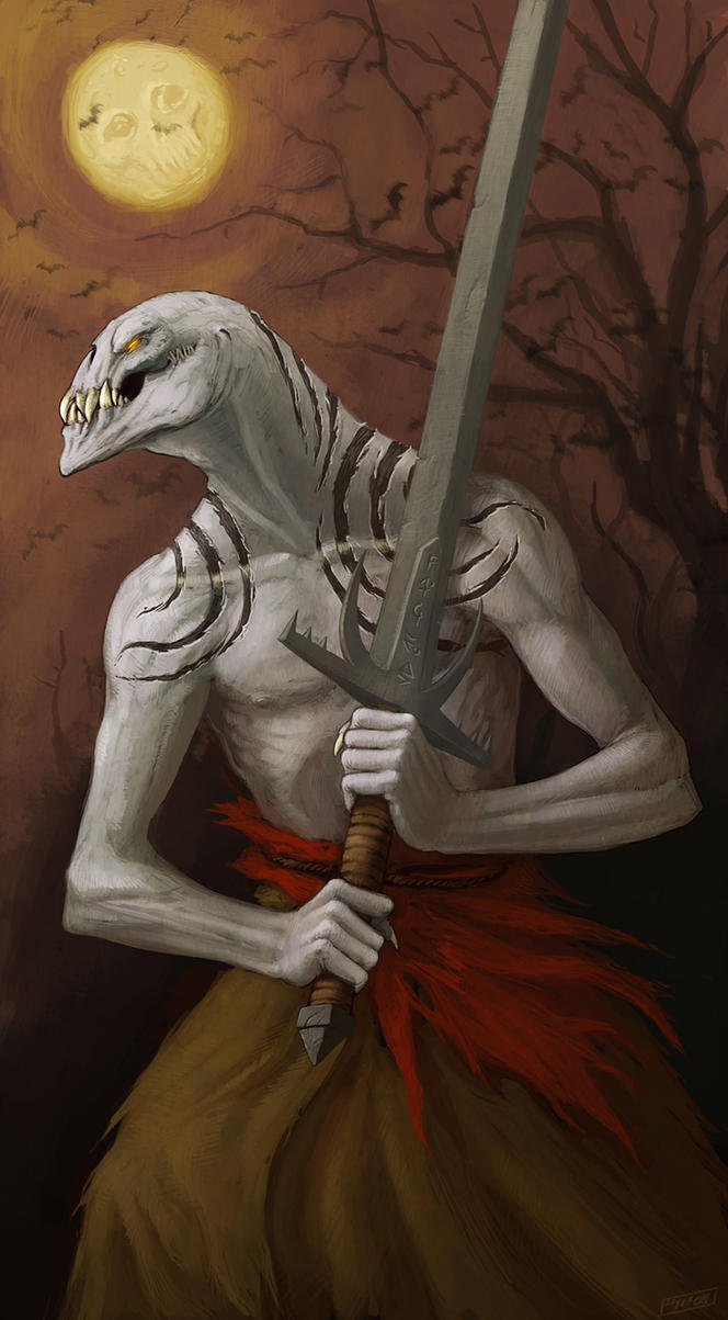 Sword Ghoul by mort1eg