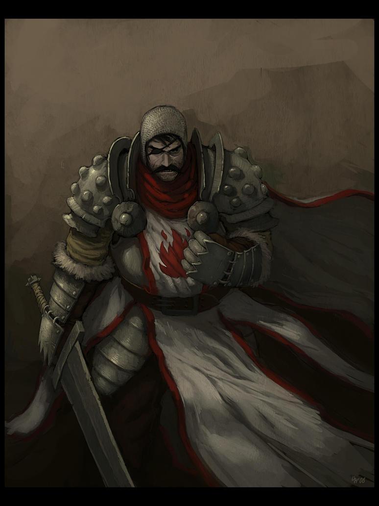 Scarlet Crusader by mort1eg