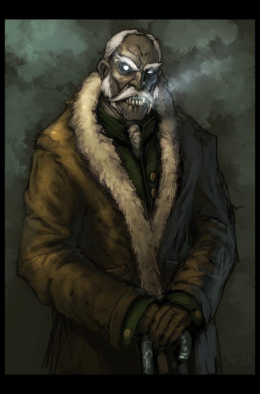 Vampire by mort1eg