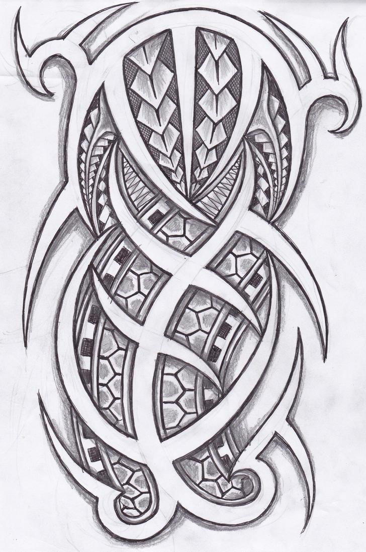 island tribal tattoo design by stuartbrewer on deviantart. Black Bedroom Furniture Sets. Home Design Ideas
