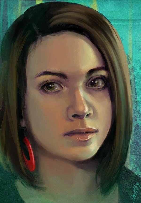 Self Portrait by Elle-H