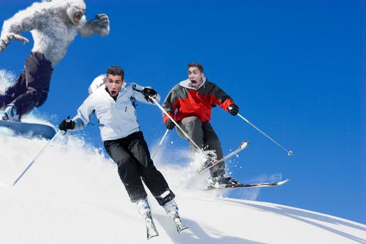Skiers by rk8698