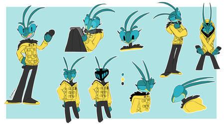 Mantis Character