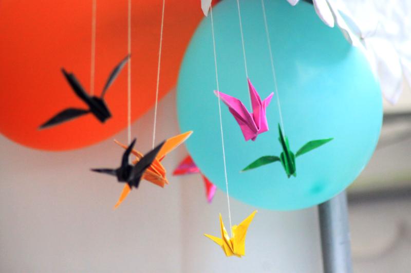 origami burung by dstyareini
