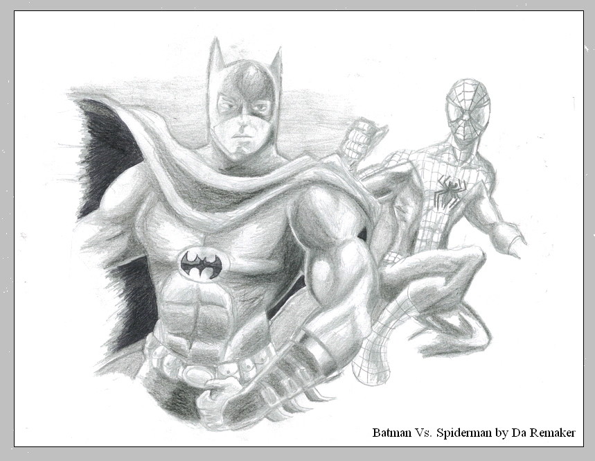 Batman Vs. Spiderman By Daremaker On DeviantArt