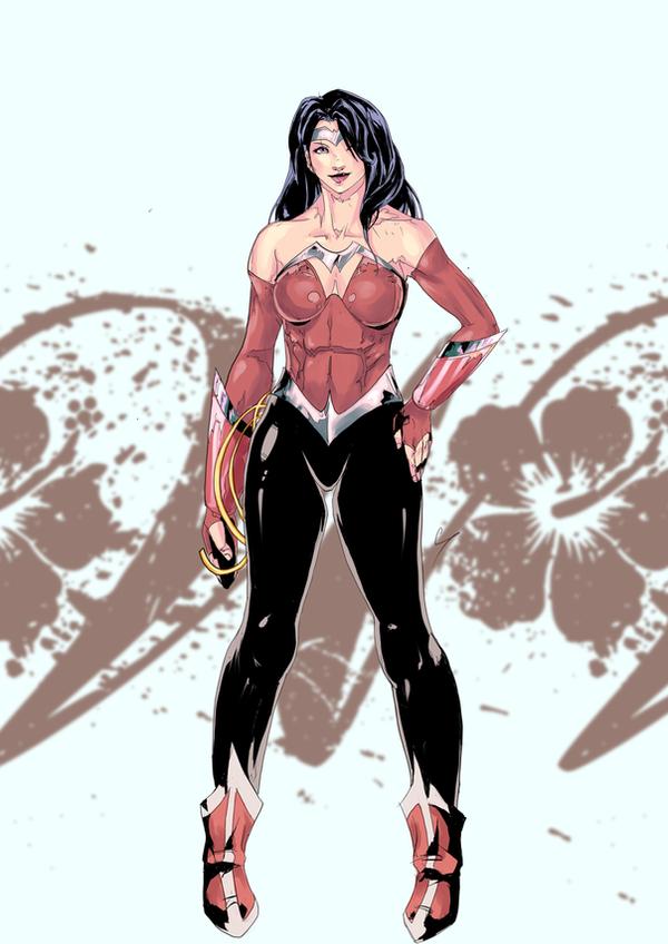 Shin Wonder Woman by daremaker