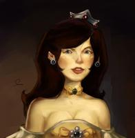 Princess Daisy Portrait by daremaker