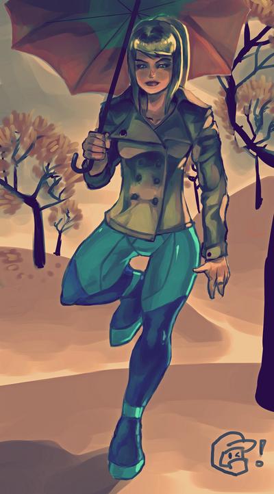 Autumn Samus Aran by =daremaker on deviantART