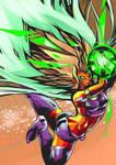 Starfire from Teen Titans