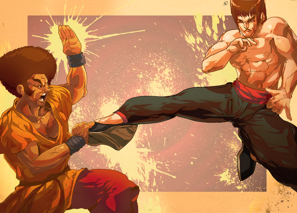 Vs Bruce Goddamn Lee by daremaker