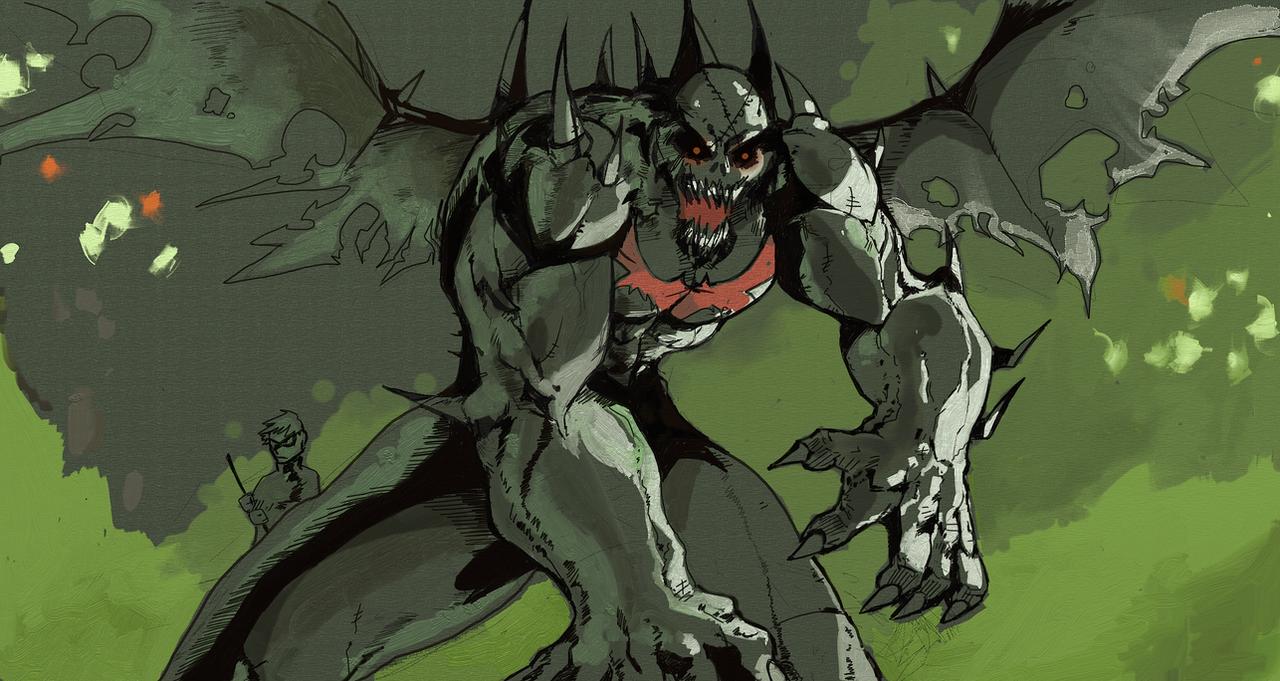 Venom Batman by daremaker on DeviantArt - 1343.7KB