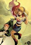 Retro Supergirl