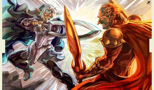 Battle of Hyrule's Giants