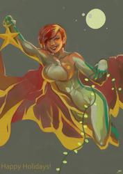 Powergirl Christmas by daremaker