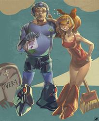 Poor Megaman by daremaker