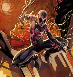 Spiderman 2099 by daremaker