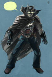 Detective Bat-Man by daremaker