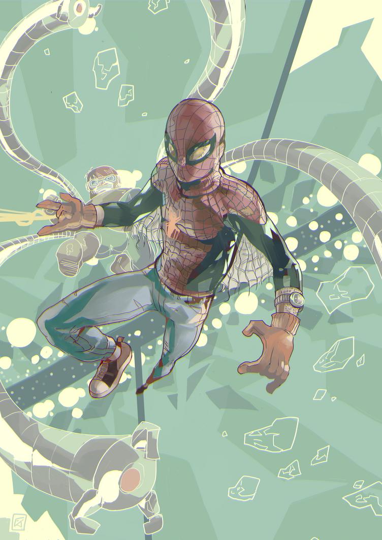 Penniless Spiderman by daremaker