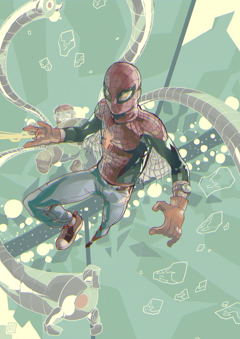 Penniless Spiderman